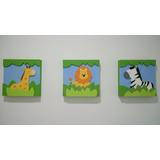 Cuadros Infantiles Decorativos X 3