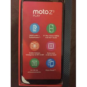 Moto Z3 Play 64 Gb 4gb Ram Entregas Puebla