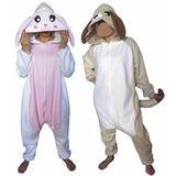 Pijama Kigurumi Onesie Adultos Conejo Gato Perro Animales