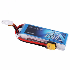 Combo 2 Lipo Gens Ace 2200mah 3s 11.1v Xt60 T Rex Drone Aero