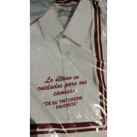 Camisas De Vestir Italianas(2) Azul Y Blanca (berlioni)