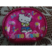 Bolsita Monedero De Hello Kitty By Sanrio Rosada