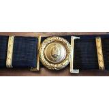 Cinturon De Gala Oficial Superior Policia Federal Argentina