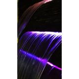 Cascada Para Alberca O Fuente 90cm C/luz Led A Colores 12v