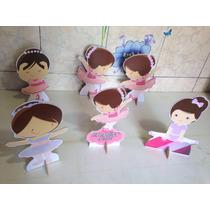Bailarina 10 Peças De Mesa De 15cm A 20cm