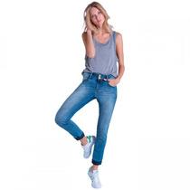Calça Jeans Feminina Ana Hickmann Cigarrete Mid 21083