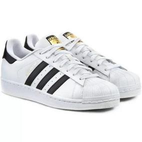 6999269cba Tenis Adidas Superstar Metallic Branco Feminino Em Parque ...