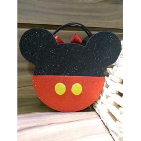 Lembrança Mickey E Minnie Em Eva Com Glitter. Frete Grátis