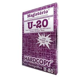 Papel Hectográfico Estêncil Tatoo Caixa 100 Unid. De 22x33cm