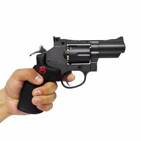 Revólver D/doble Acción Calibre 4.5 Mendoza Co2 Full Metal