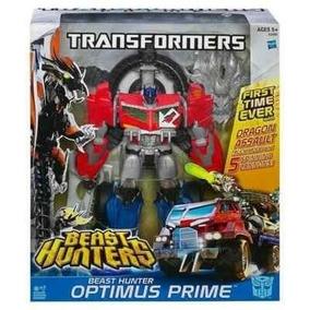 Boneco Optimus Prime Beast Hunters