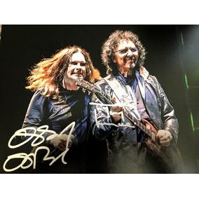 Autógrafo Original : Ozzy E Tony Iommi - Black Sabbath