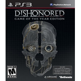 Dishonored Game Of The Year Edition Ps3 Digital Gcp