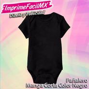 Pañalero Para Bebé Color Negro