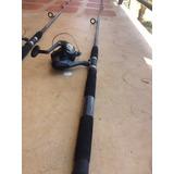 Caña De Pescar R2f Con Kit De Anzuelos Poco Uso