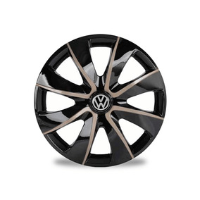 Calota Aro 13 Esportiva Prime Gold Volkswagen Gol G5 Voyage