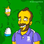 Caricaturas Simpsons Homero San Valentin Bart Bodas Flander