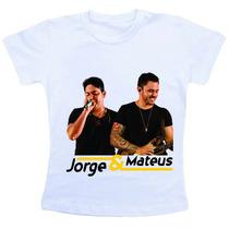 Camiseta Baby Look Feminina - Jorge E Mateus