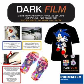Dark Transfer Solvente Para Camisetas Escuras - 50 Mt X 1mt