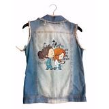 Colete Jeans Greys Anatomy Roupas Femininas Verão Escolha