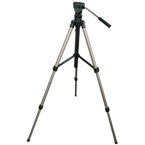Tripé Velbon Cx-686 Com Cabeça Para Vídeo Aluminium 163cm