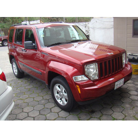 Jeep Liberty Sport 4x2 2012 Rojo Cereza