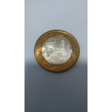Moneda Del Edo De Chihuahua 100 Pesos Bimetalica