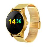 Relógio Bluetooth Smartwatch Dourada Chiclits K88h C / Chip
