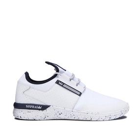 Zapatillas Supra Flow Run White Navy White