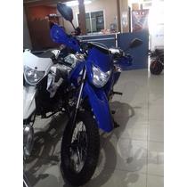 Mondial Td150l Azul 0km- W Motos San Miguel