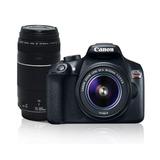 Cámara Reflex Digital Canon Rebel T6 De 18 Mp Negra