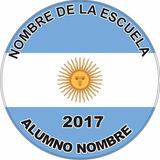 20 Pines Recuerdo Juramento A La Bandera 44//55mm Jose C.paz