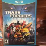 Game Transformers Prime Wii U Original