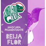 Mascara Pigmentada Kamaleão Color Beija Flor, Tinta Fantasia