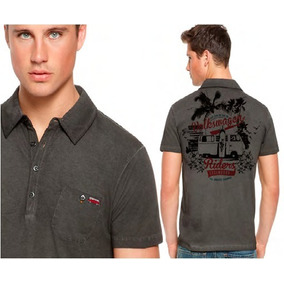 Camisa Polo Kombi Back Legendary Volkswagen Colletction