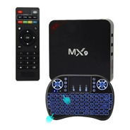 Smart Tv Box Conversor Android Hdmi Wifi 4k + Mini Teclado