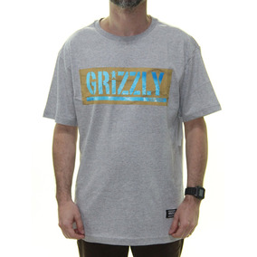 Camiseta Grizzly - Camisetas Manga Curta para Masculino em Santa ... 0f9b4c10828