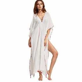 Kimonos Largos-kimono Mujer-vestidos De Verano-vestido Playa
