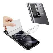 Protector Hidrogel Samsung S20 S20 Ultra Frente + Cam Metal