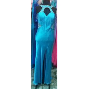 Vestido De Madrinha Casamento Azul Tifanny 120,00