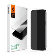 Vidrio Templado Spigen iPhone 12 Mini Glas.tr Slim Hd 9h