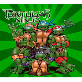 Morralito Dulcero Personalizados - Tortuga Ninja - 30 Piezas