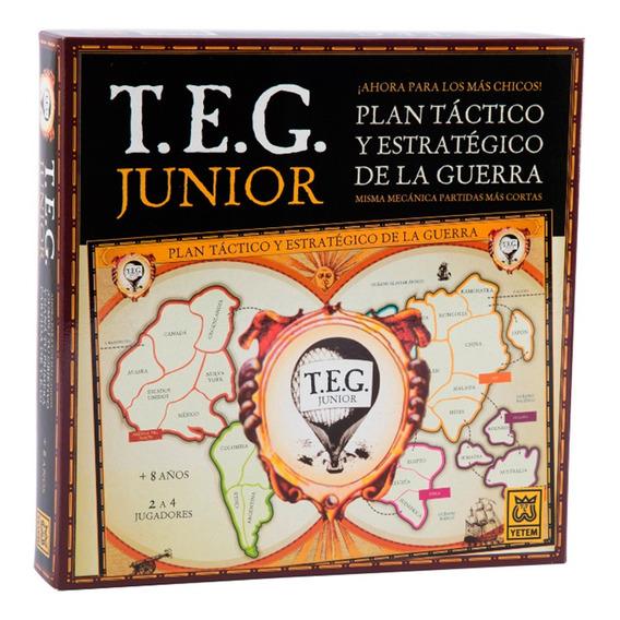 Teg Junior Juego De Mesa Original Ruibal
