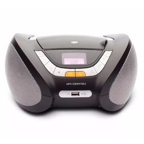 Radio Cd Player Mp3 Portátil Fm Usb Auxiliar 5w Dz-651394