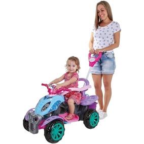 Quadriciclo Infantil Mini Veículo Motinho Pedal Menina Motoc