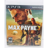 Max Payne 3 - Ps3 - Legendas Em Português- Alemão Games