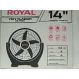 Ventilador Eléctrico Royal 3 Velocidades