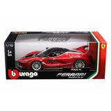 * Ferrari Fxxk * Burago Escala 1:18 Rojo # 10