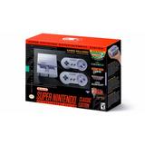 Consola Super Nintendo Snes Classic 12 Meses Sin Intereses