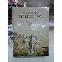 Livro Comentário Bíblico Nvi